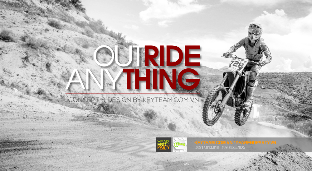 concept tổ chức team building outride anything